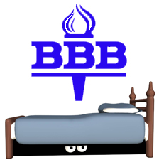 bbb with monster under bed